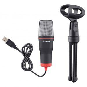 Microfono Usb De Condensador Para Computadora Steren 550_0