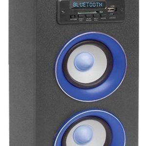 Bocina Recargable Fm Usb Aux Control Bluetooth Mitzu 9422_0