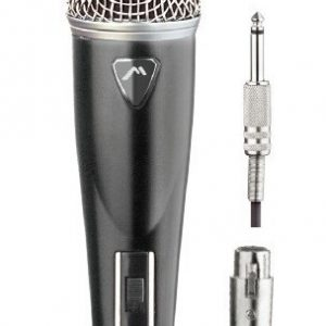 Micrófono Alámbrico Metálico Profesional Hifi Mitzu 8000_0