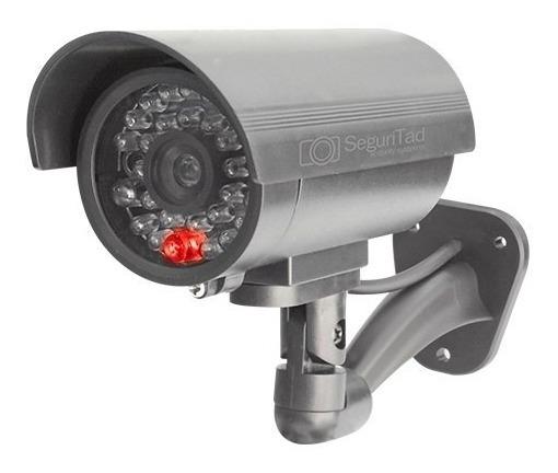 Par De Cámaras De Vigilancia Simuladas Con Led Mitzu 2004_1
