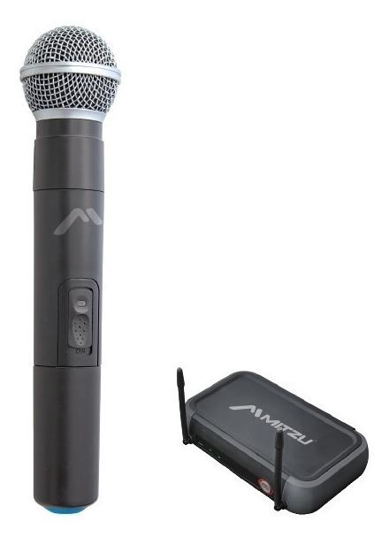 Micrófono Inalámbrico Uhf Alcance 60 M Mitzu 3081_0