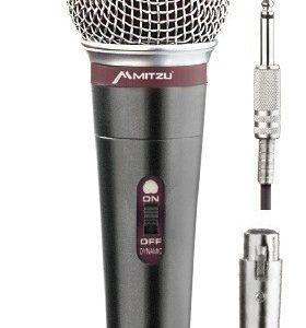 Micrófono Alámbrico Metálico Profesional Hifi Mitzu 8004_0