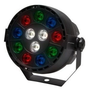 Luz Led Rgbw Par64 Con Display Cañon 30w Mitzu 9070_0