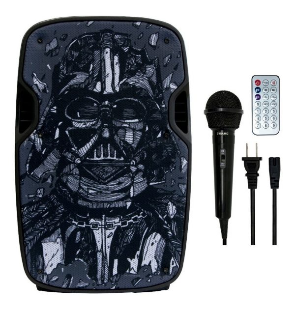 Bocina 8 Recargable Bluetooth Usb Fm Eco Mic Darth V Fussion_0