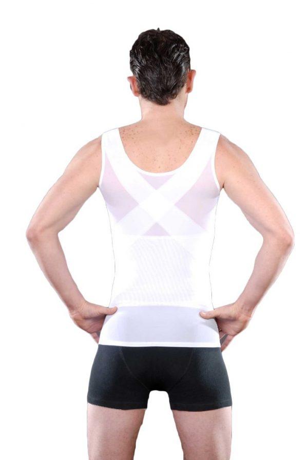 Camiseta Faja Modeladora Magnetica Corrige Postura Al 2x1_2