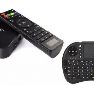 Smart Tv Box Android Wifi 4k 2gb Ram 16gb + Teclado_0