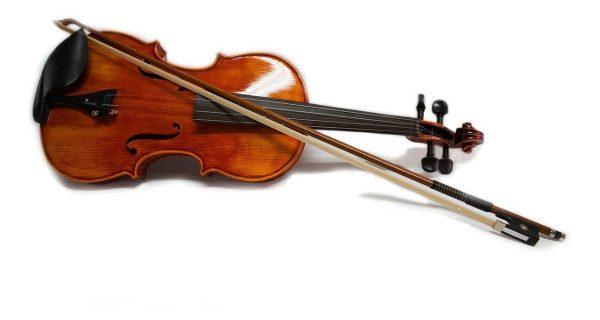 Violin Maple 4/4 Con Estuche Arco Brea Puente Vitale_1