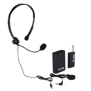 Microfono Inalambrico De Solapa O Diadema Steren 290_0