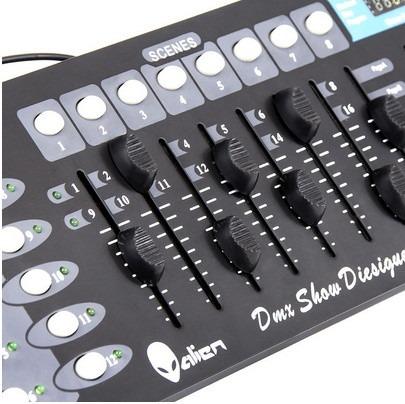 Kit 6 Luz De Leds Cañon Par64 Rgbw + Controlador Dmx 9070_5