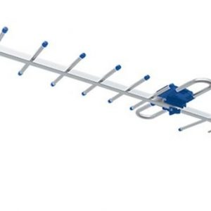 Antena Aérea Hdtv De 10 Elementos Cable 10m Mitzu 9512_0