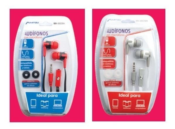 Mayoreo 20 Audífonos Manos Libres Micrófono Mitzu Mh0022_2