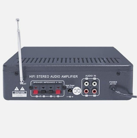 Amplificador Usb Fm Mp3 Karaoke 180w Mitzu 620_1