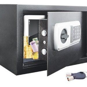 Caja Fuerte Combinación Digital Alta Segurida Reforzada 2218_0