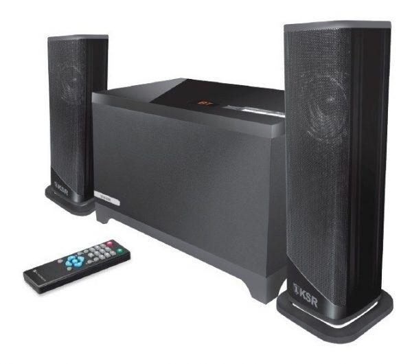 Bocinas Bluetooth Multimedia 2.1 Aux Usb Fm Kaiser 9331_0