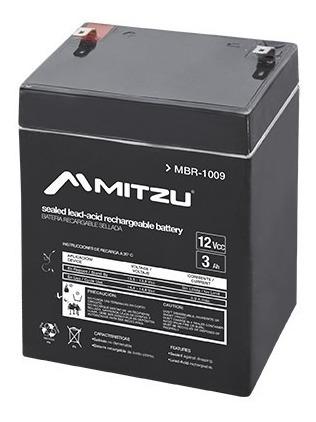 Batería Sellada Recargable De Ácido 12v 3a Mitzu 1009_1