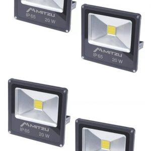 Set De 4 Reflector Led 20w Para Exteriors Mitzu 9620_0