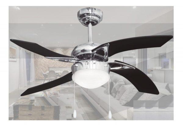 Ventilador De Techo 42 Pulgadas Con Lámpara Aire Adir 2084_1