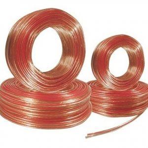 Cable Dúplex Polarizado Calibre 18 Bocina Mitzu 100mts 10018_0