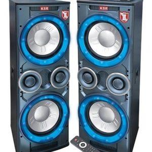 Par Bafles Amplificado Y Pasivo Bocina 2x12 Bluetooth 7412_0