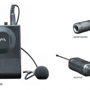 Microfono Inalambrico De Solapa Hasta 30m 1909_0