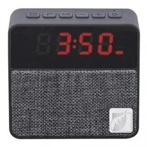 Reloj Despertador Bocina Bluetooth Fm Usb Aux 9121_0