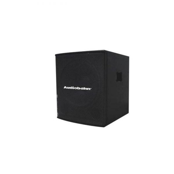 Bafle Subwoofer Bi Amplificado Bocina 18 Texturi Audiobahn_0