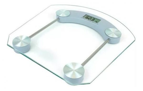 Bascula Digital Vidrio Templado Fitness 1000 Mitzu_0