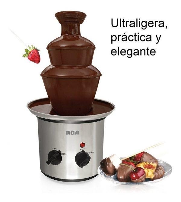 Fuente De Chocolate Chamoy De Acero Inoxidable Rca_2
