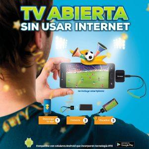 Sintonizador Hd Tv Sin Usar Internet Celular Android Steren_0