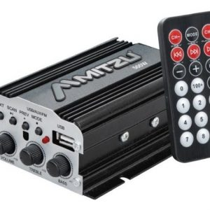 Amplificador 2 Canales Bluetooth Usb Fm Mp3 Mitzu 76bt_0