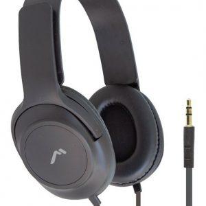 Audífonos Diadema Confort Cable Plano Negros 5029 _0