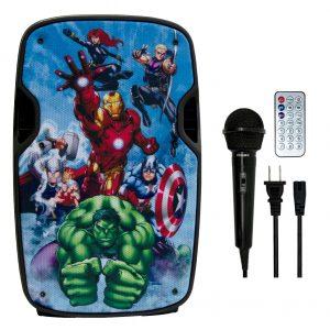 Bocina Recargable Bluetooth De 8 Usb Fm Eco Mic Avengers_0