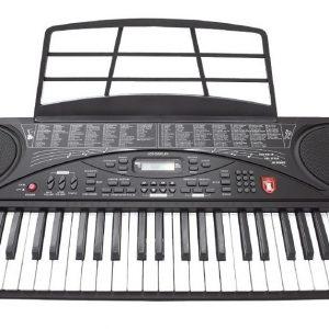 Teclado Musical Con 54 Teclas Micrófono Display Lcd Ksr 5480_0