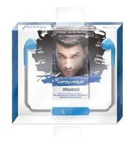 Audífonos Deportivo Bluetooth 3.0 Manos Libres Azul 9214_1