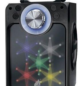 Bocina Recargable Bluetooth Usb Sd Mp3 Aux Fm Luz 9452_0