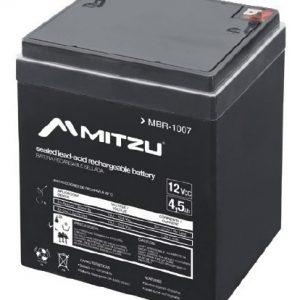 Batería Sellada Recargable De Ácido 12v 4.5a Mitzu 1007_0