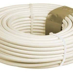 Cable Telefonico Plano 4 Vias 100 M Marfil Mitzu 14-1010m_0