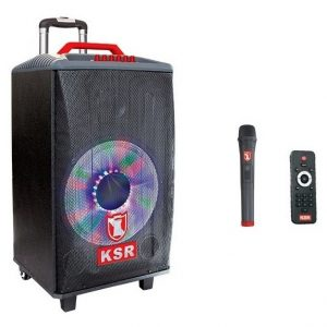 Bafle Recargable Bluetooth Bocina 12 Fm Microfono Ksr 7612_0