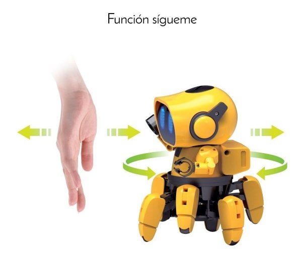 Robot Articulado Para Armar Smartbot Sensores K720 Steren_2