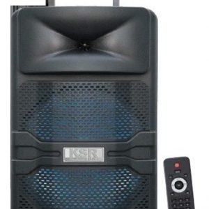 Bocina 8 Bluetooth Usb Fm Luz Mic Bafle Ksr 6012_0