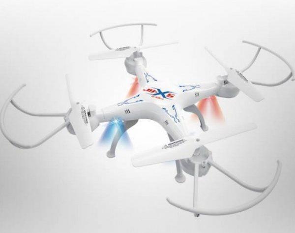 Dron Cuadricoptero Recargable Giro 360 Grados Grande Jy802_1