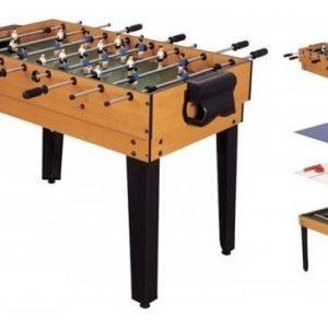 Mesa Multijuegos 4 En 1 Billar Futbolito Ping Pong Hockey_0