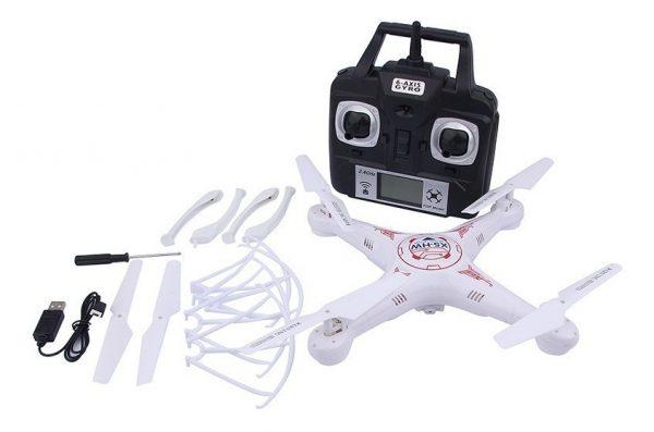 Dron Cuadricoptero Recargable Giro 360 Grados Grande Jy802_2