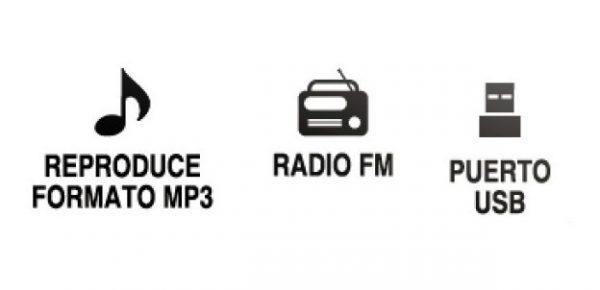 Amplificador Bluetooth Usb Fm Control Auto Moto Bocinas 76bt_1
