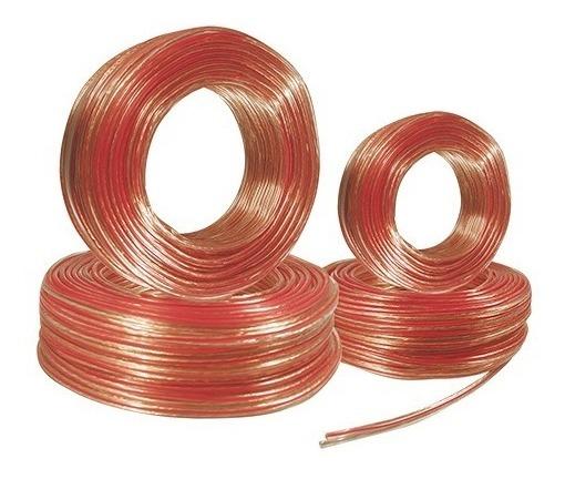 Cable Dúplex Polarizado Calibre 16 Para Bocina 100mts 10016_1