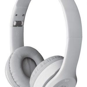 Audífonos Bluetooth Recargables Sd Fm Blanco Ksr 9091_0
