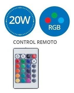Par Reflector Led Rgb 20w Para Exterior Control Remoto 9520_2