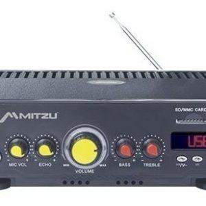 Amplificador Usb Fm Mp3 Karaoke 180w Mitzu 620_0