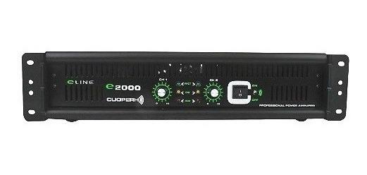 Amplificador Profesional Cuoperh E2000 300w Silver Line_0