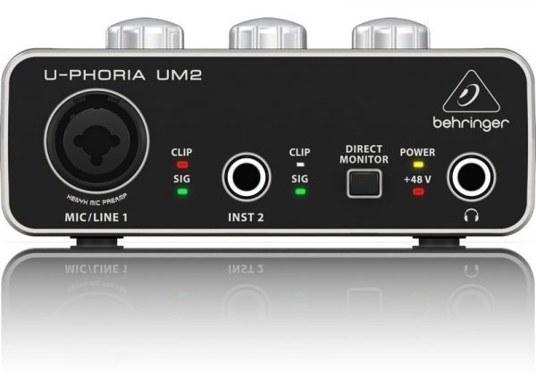 Interfase De Audio Behringer Um2 Grabacion_3